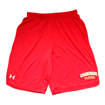 SHORT UNDER ARMOUR HEATGEAR ROJO TALLA M CHAMINADE FLYERS