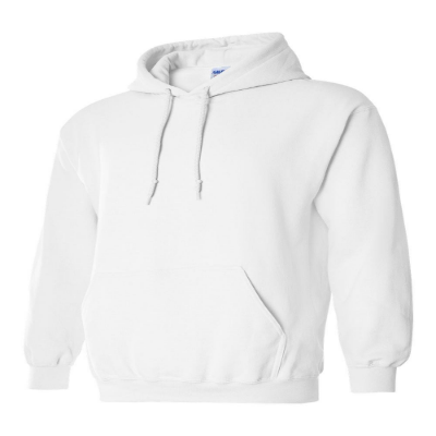 Gildan® Heavy Blend™ Adult Hooded Sweatshirt white Mod 18500