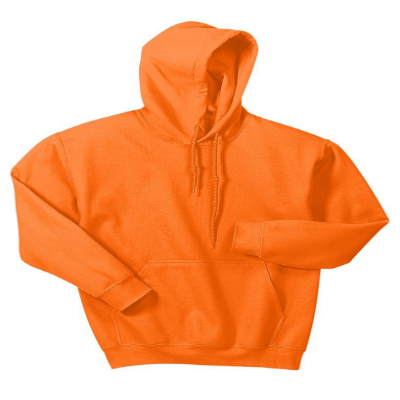 Gildan® Heavy Blend™ Adult Hooded Sweatshirt Orange Mod 18500