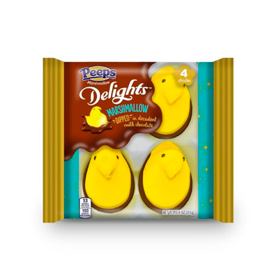 Peeps Easter Delight Milk Chocolate Dipped Chick - 2.3 oz - Peeps