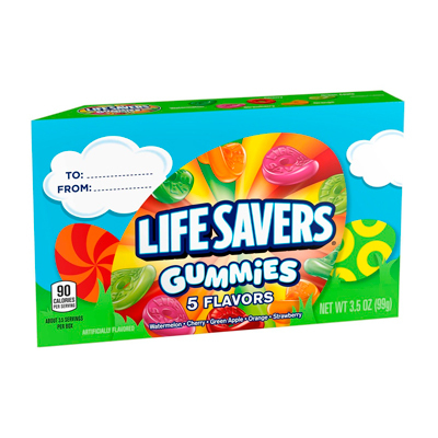 Lifesavers 5 Flavors Gummies, 3.5 Oz. - LifeSavers
