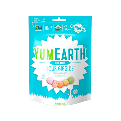 Yum Earth Easter Sour Giggles Chewy Candy Bites - 5oz - YumEarth