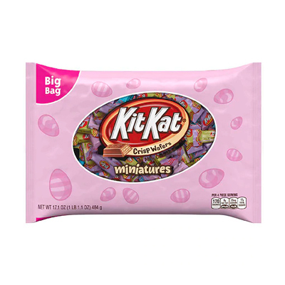 Kit Kat Easter Miniatures Big Bag - 17.1oz - Kit Kat