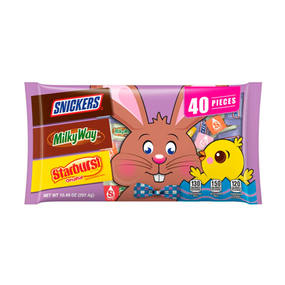 Mars Assorted Easter Candy & Chocolate Minis Bag - 10.49oz/40ct - Mars